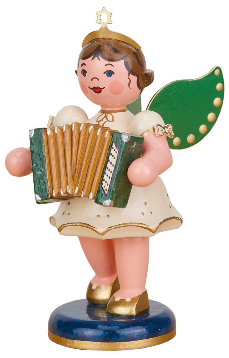Engel mit Akkordeon