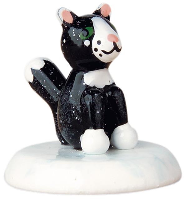 Winterkinder - Katze schwarz