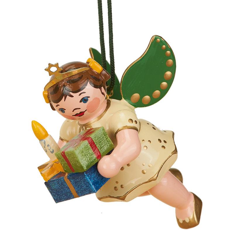 Baumbehang - Engel mit Weihnachtsgeschenke