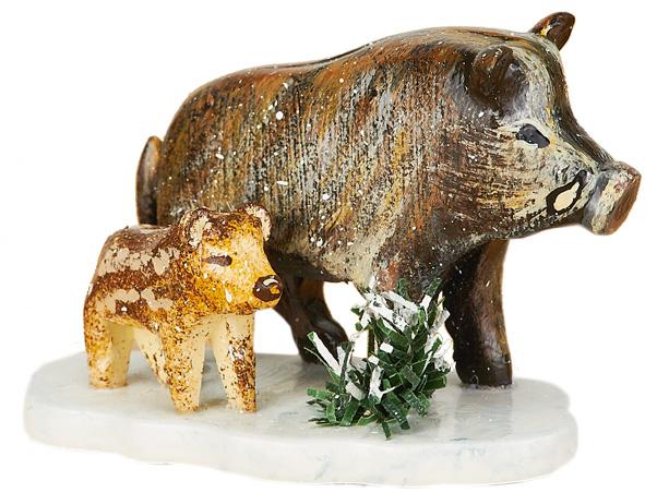 Winterkinder - Wildschweine