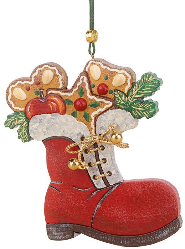 Baumbehang - Nikolausstiefel mit Pfefferkuchen