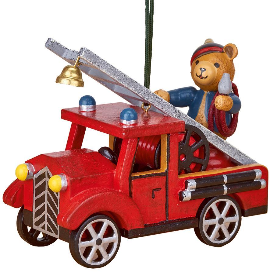 Baumbehang - Feuerwehr mit Teddy