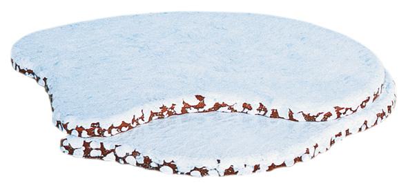 Winterlandschaft - Anbau links 18 x 18 cm