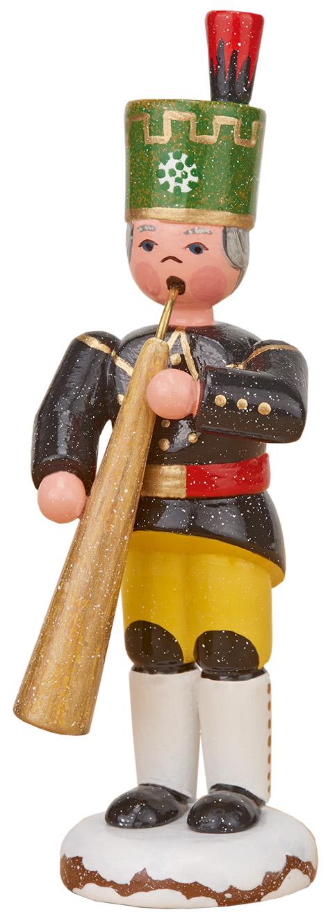 Bergmann mit Russischem Horn