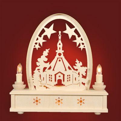 Seiffener Kirche - Seidelbogen