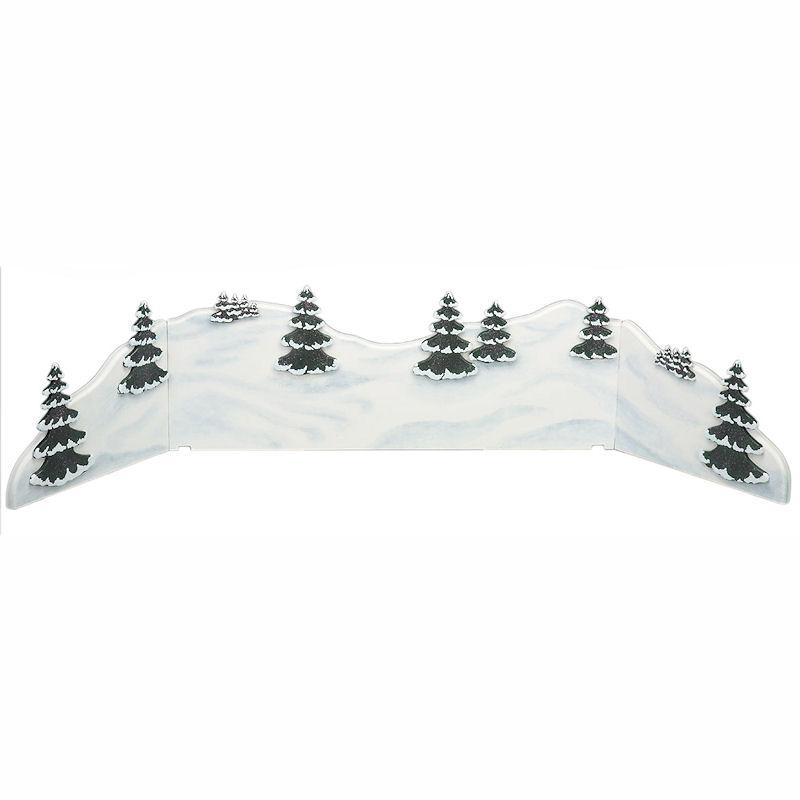 Winterlandschaft - Diorama 115 x 24 cm