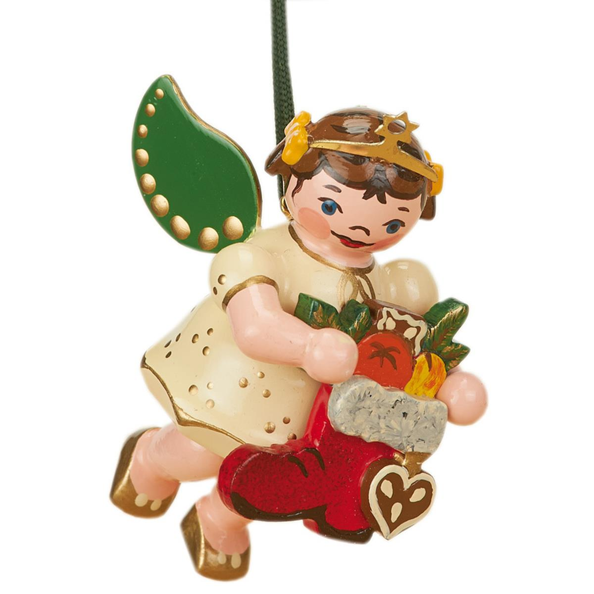 Baumbehang - Engel mit Nikolausstiefel