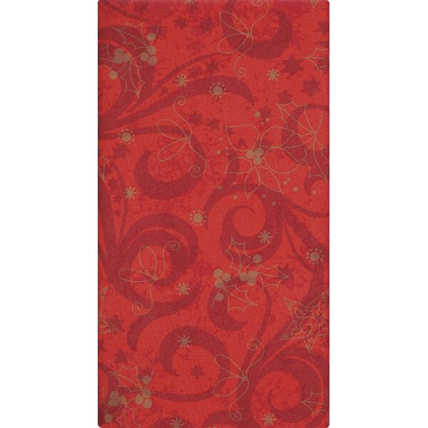 Mitteldecke - Classical Christmas red