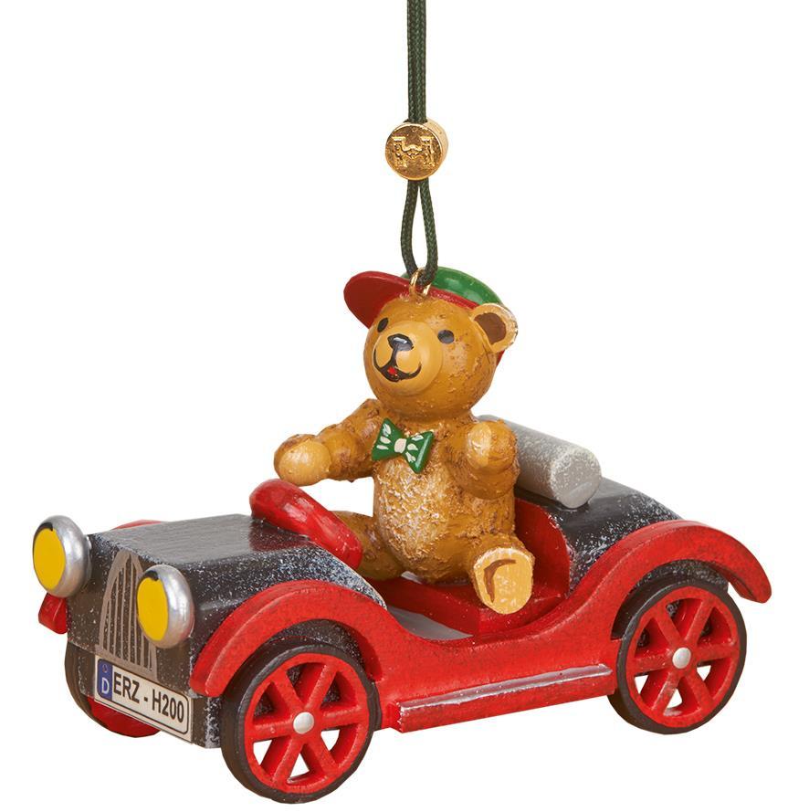 Baumbehang - Auto mit Teddy
