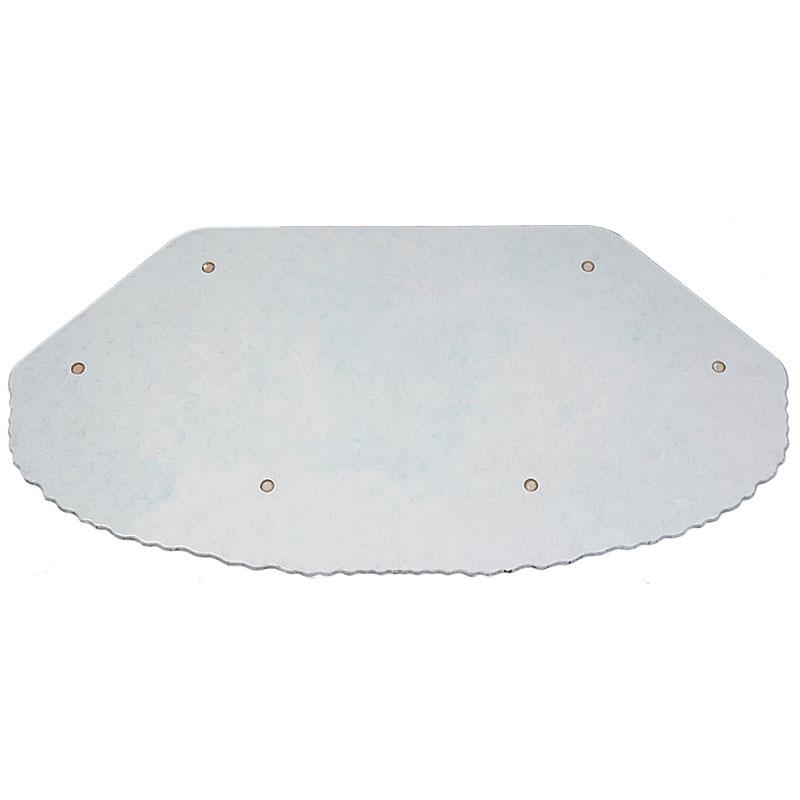 Winterlandschaft - Sockelplatte 110 x 56 cm