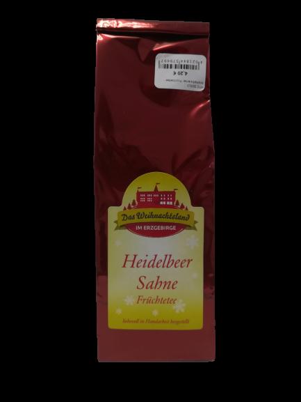 Aromatisierter Früchtetee - Heidelbeere-Sahne, 100g