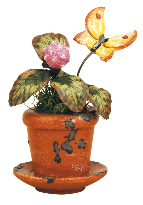 Blumentopf - Kleeblume